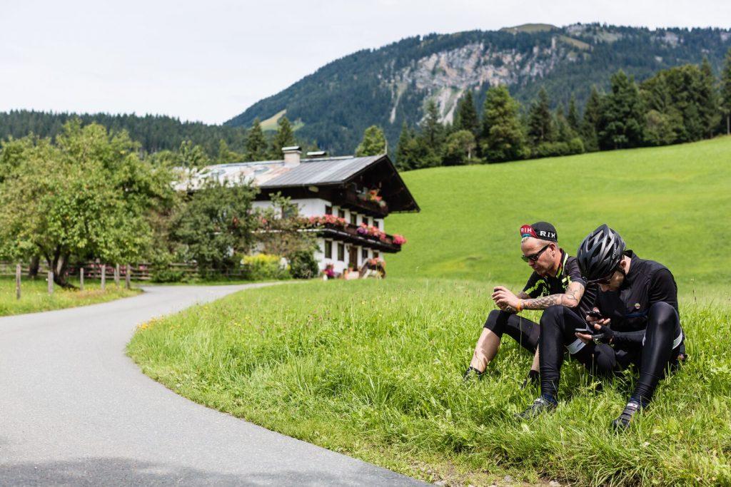 Saalfelden fietsroutes