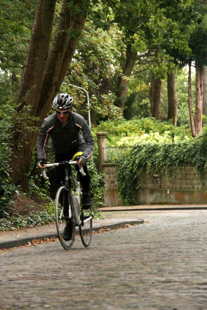 Noordzeeroute, fietsen over het kopje van bloemendaal