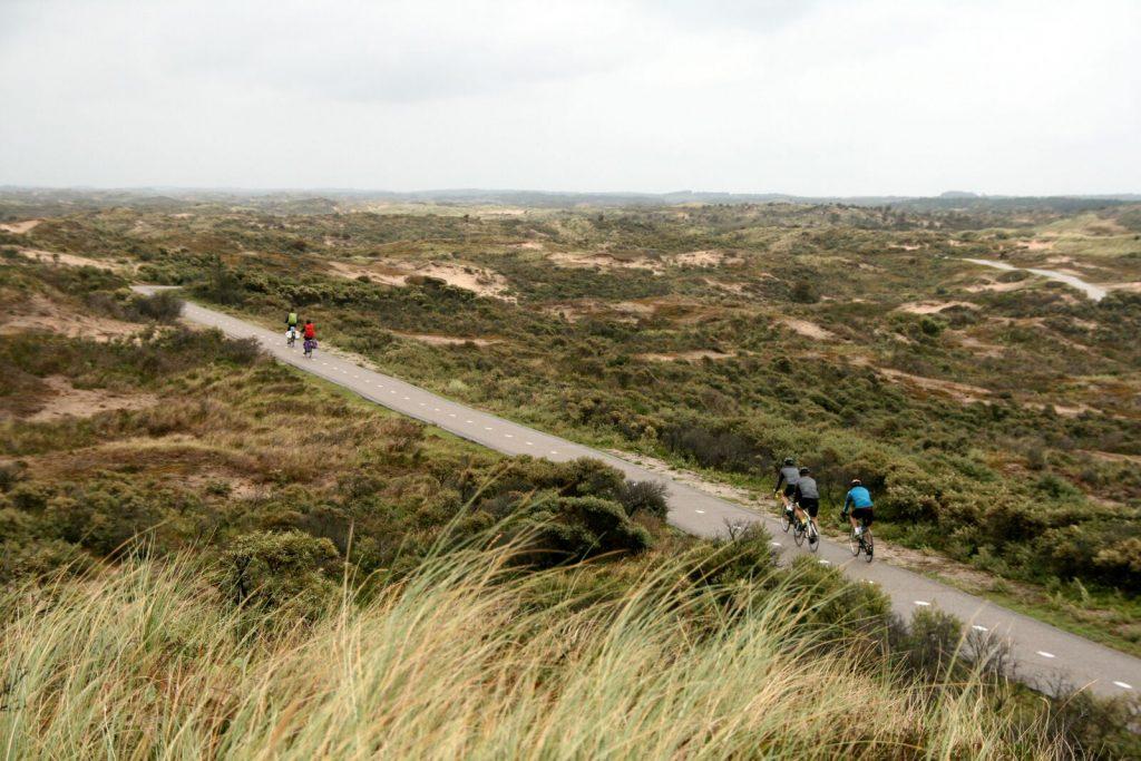 Noordzeeroute wielrennen en fietsen