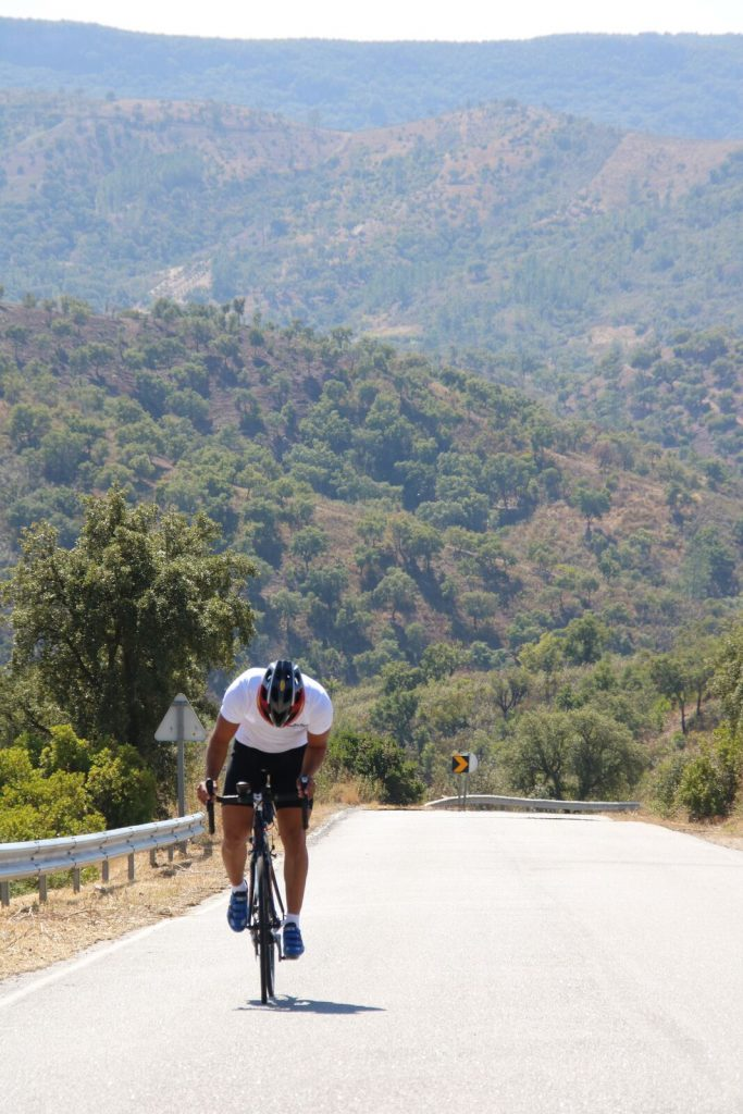 Algarve wielrennen