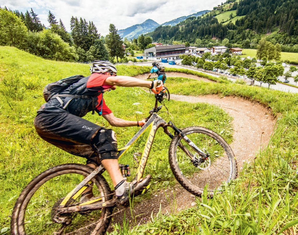 Buckettrail St Johann Tirol mountainbike trail UpDown mountainbike magazine 31