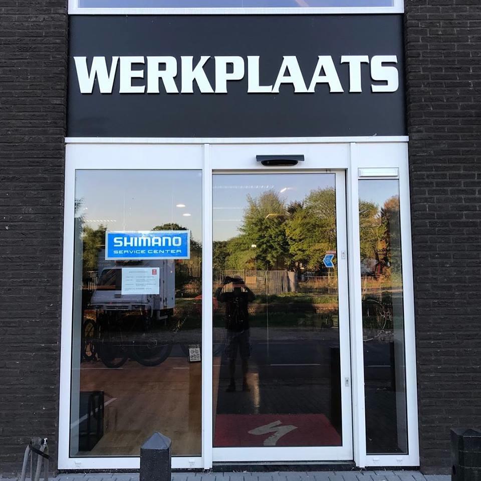 Stappenbeld werkplaats - specialized dealer