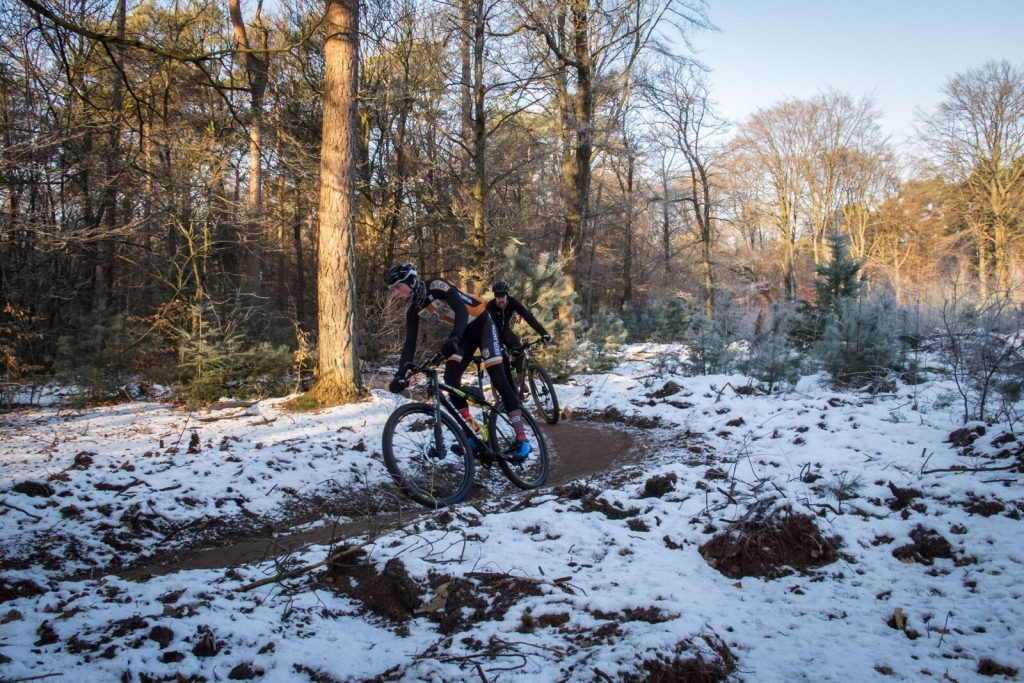 Utrecht mountainbiketrails in eigen land