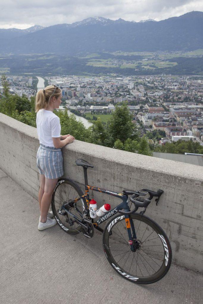 Olympisch Kampioen van der Breggen in Innsbruck, Oostenrijk