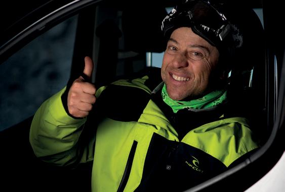 Skiën in Chamonix reisverslag Stephane