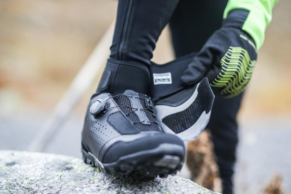 shimano koude voeten winterschoen
