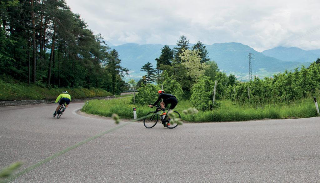 Fietsen in Tramin Zuid-Tirol 3