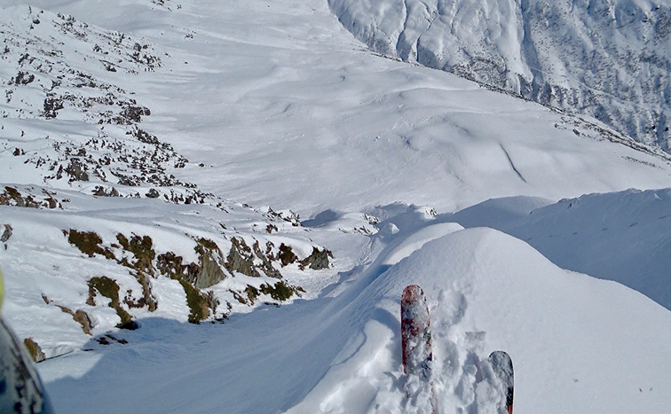 Vijftig graden steil skiën met Koen Bakkers 1