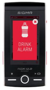 Sigma ROX 12.0 drink alarm