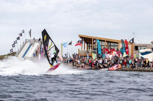 EK freestyle windsurfen Dam-X
