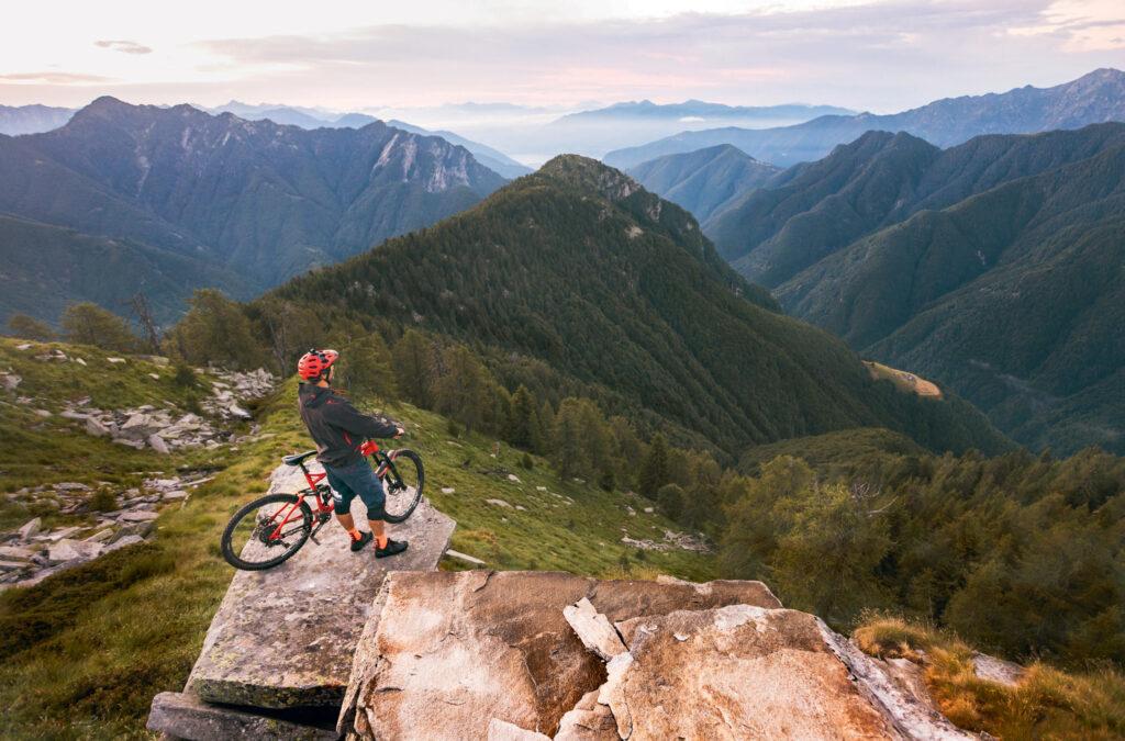 Het mountainbikefoto duel