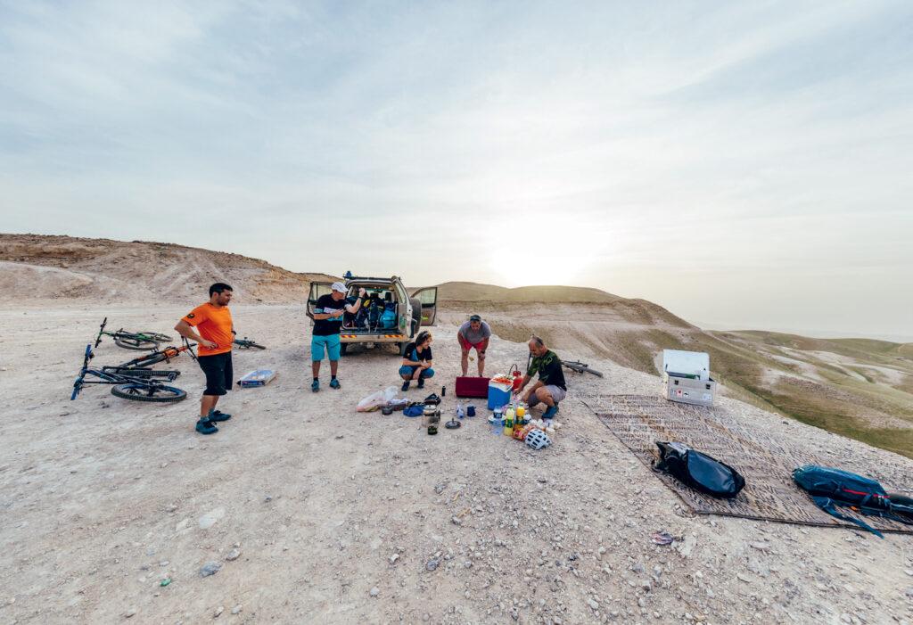 Mountainbiken in Azië - Israël