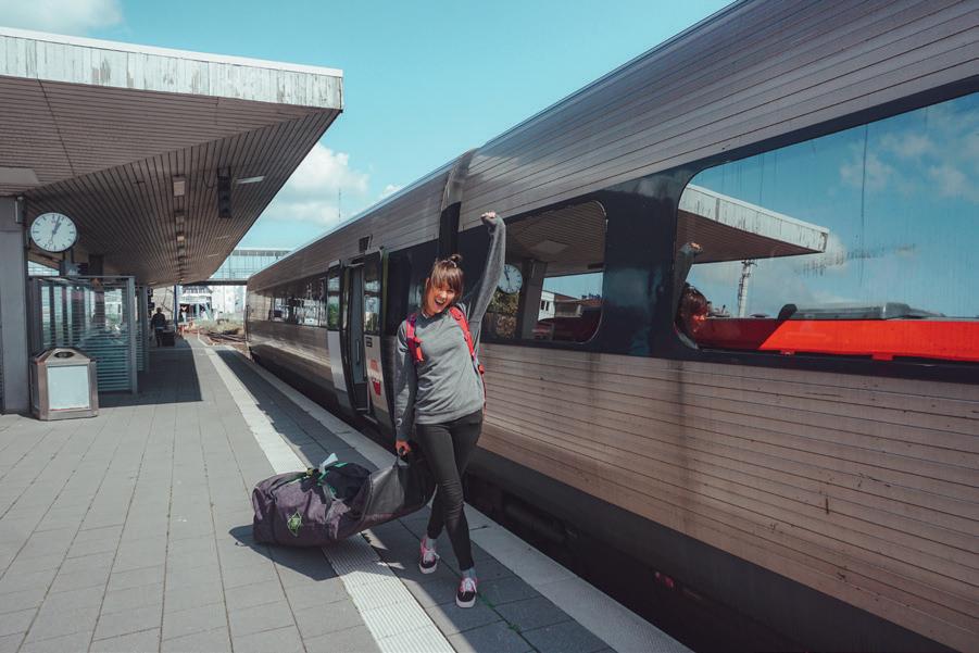 Met de trein naar Fehmarn- een zero footprint kitesurfvakantie