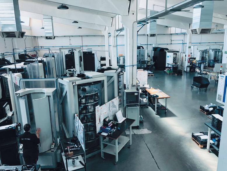 Rotor fabriek