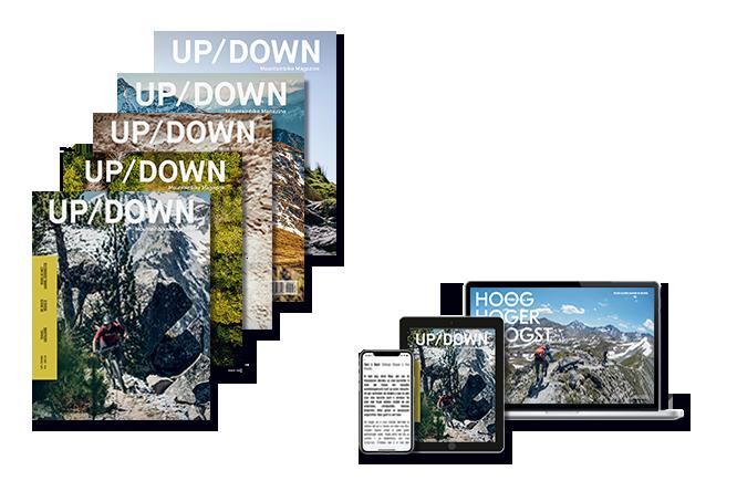 updown mountainbike magazine lid worden