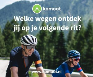 Wielrenblad Komoot