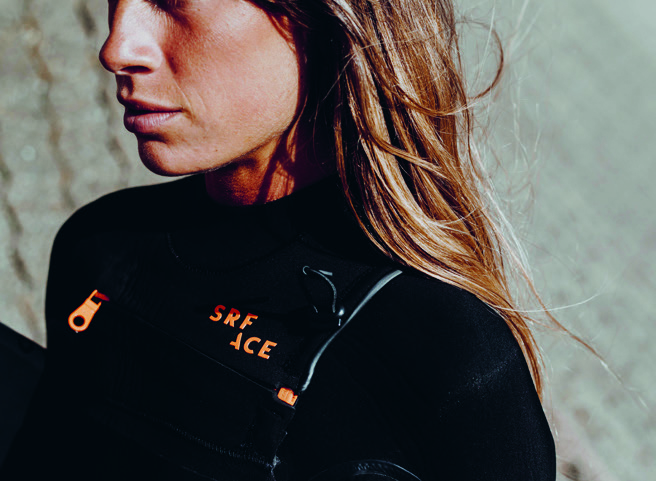 Srface - wetsuits - frontzip