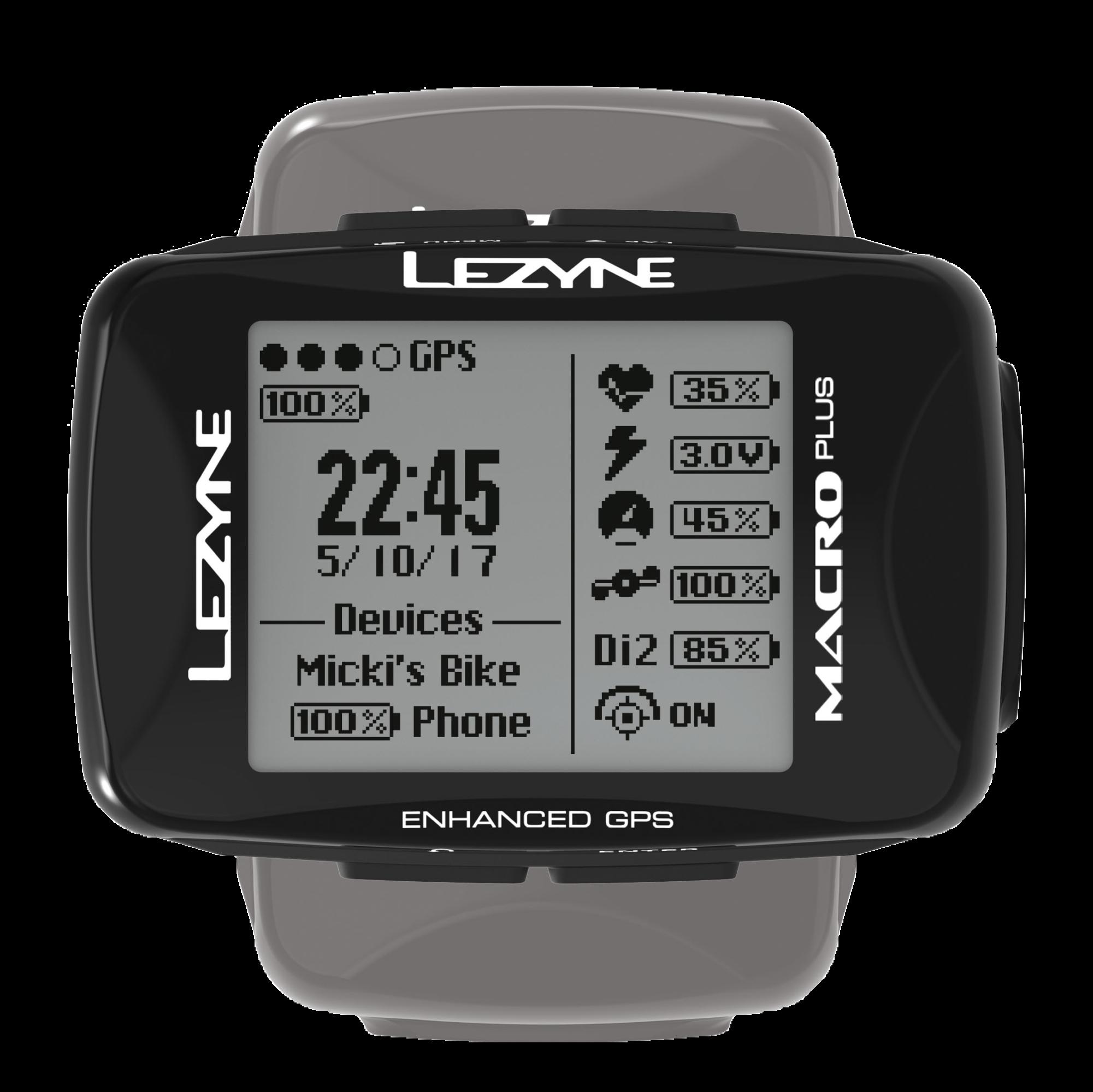 Lezyne Macro Plus GPS Fietscomputer abonnements aanbieding 2
