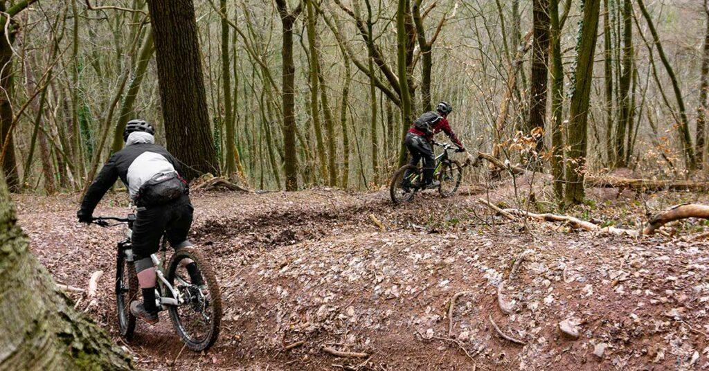 Mountainbiken in Chaudfontaine ardennen