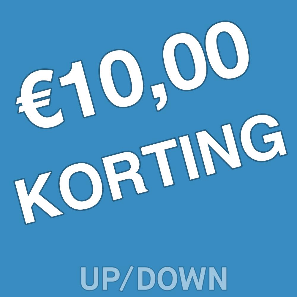 10 euro korting op UPDOWN mountainbike magazine