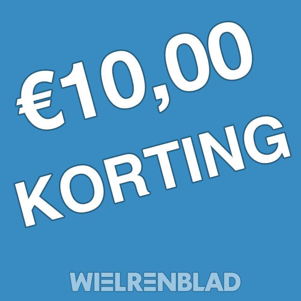 10 euro korting op Wielrenblad
