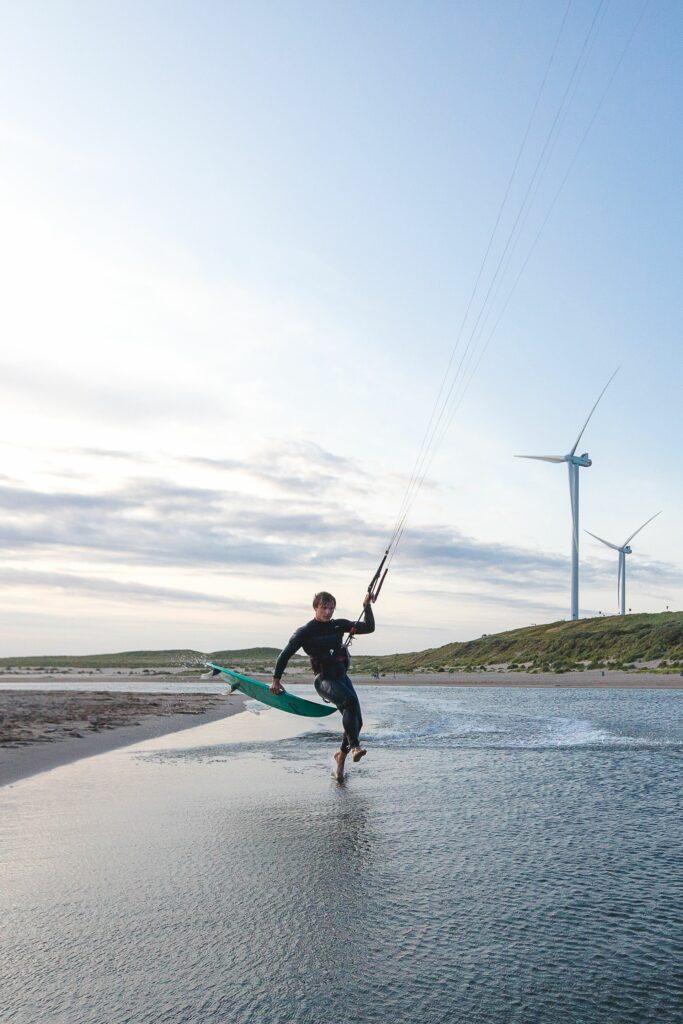 Een fotograaf en zijn vuurdoop in de kitesurfscene