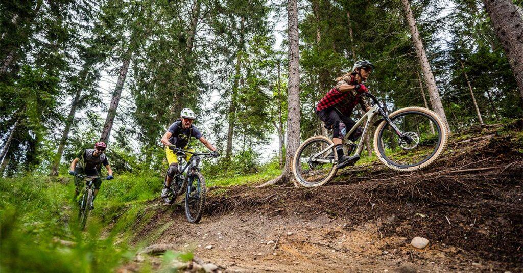 Mountainbiken in Nassfeld 1