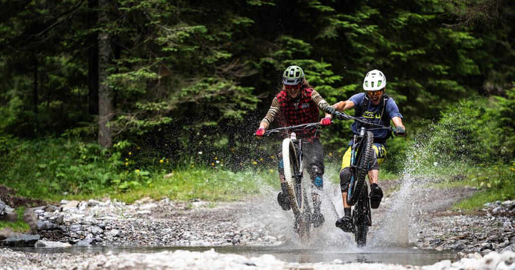 Mountainbiken in Nassfeld 2