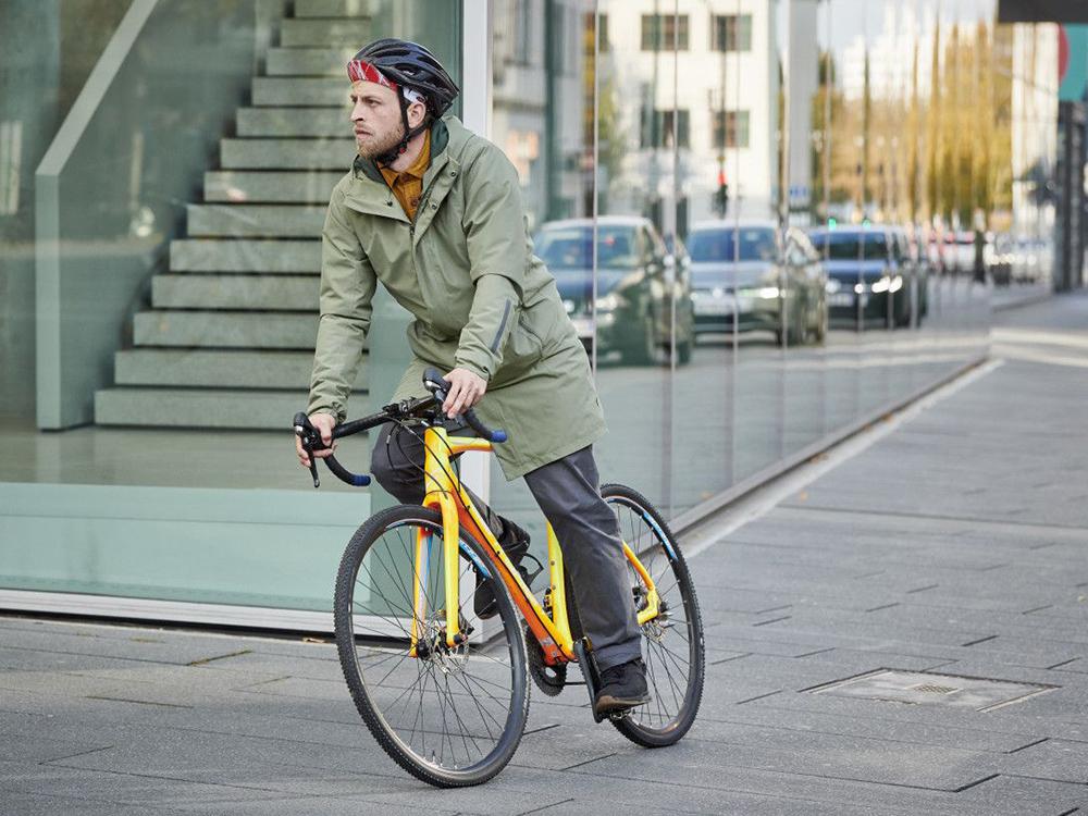 ME Cyclist Padded Coat en CityGo Bike 23