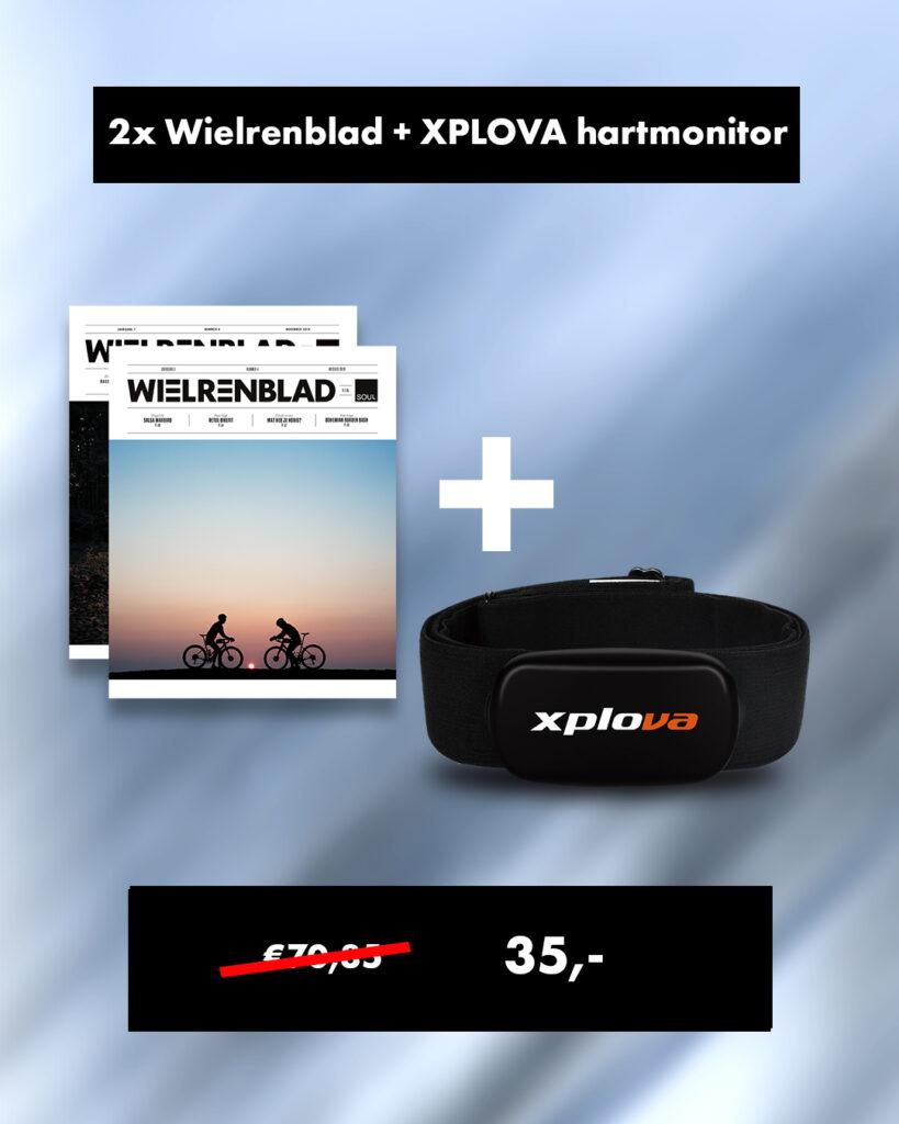 Wielrenblad + Xplova HS5