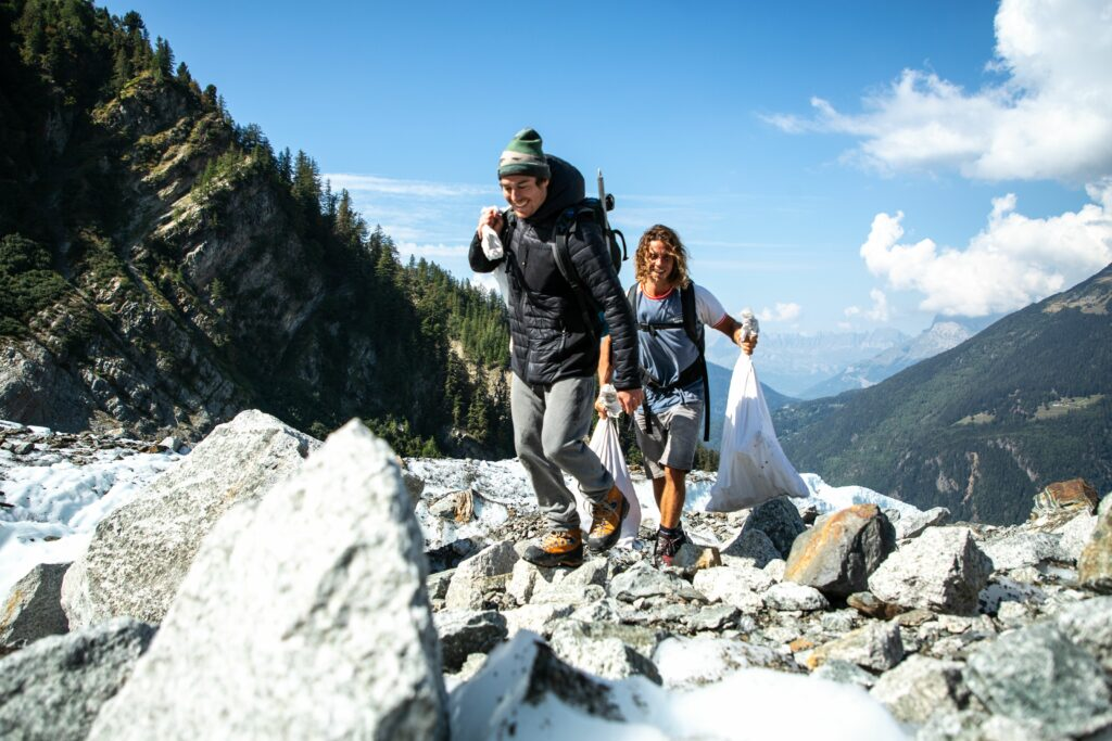 The Green Clean Up in Chamonix