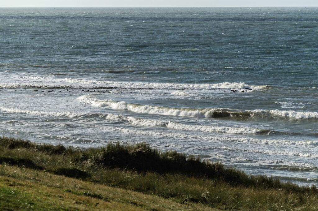 Hier aan de kust route