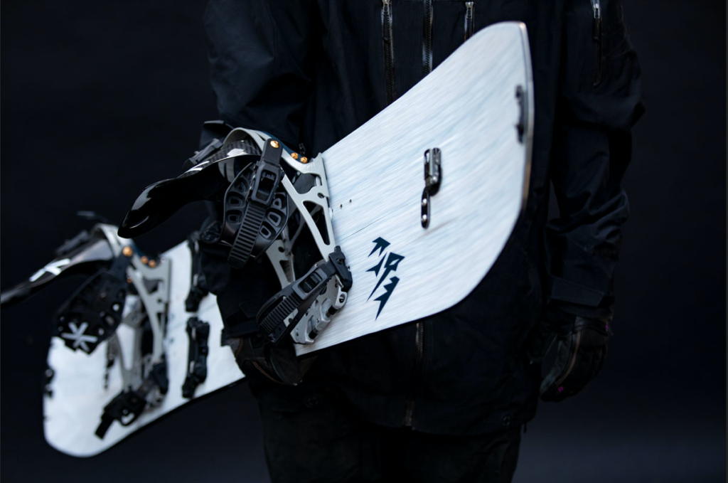 Free friction snowboarding