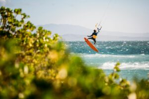 Access kiteboard magazine tot later op het water foto