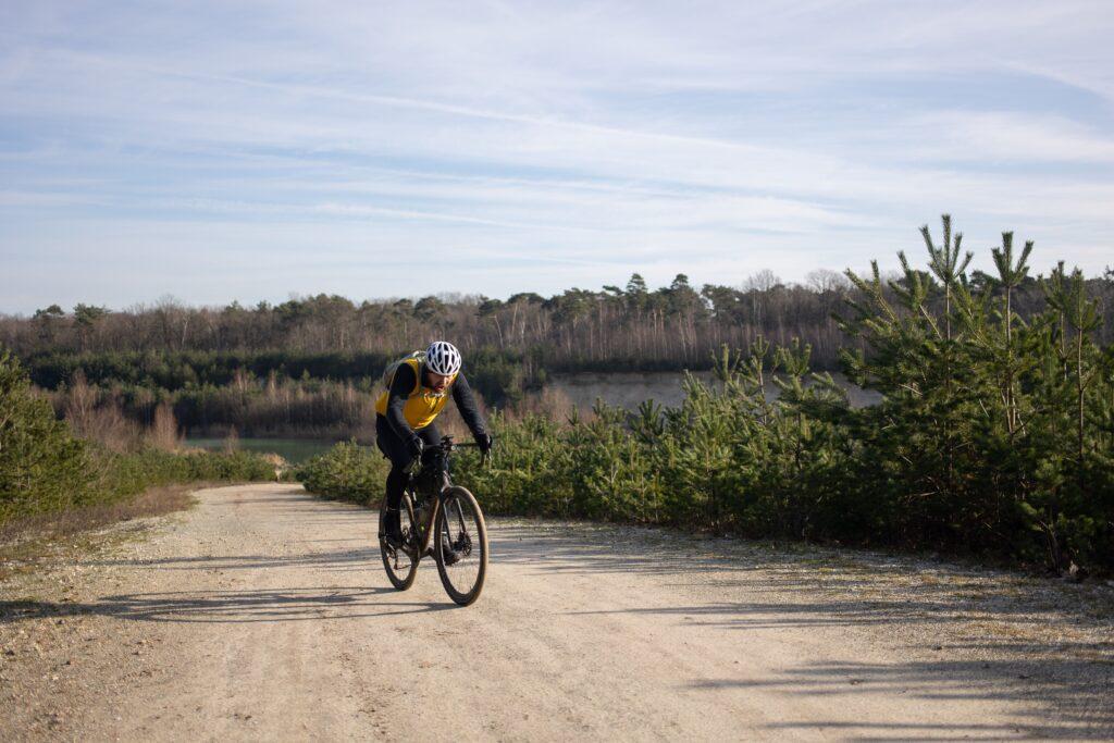 race tegen de avondklok route