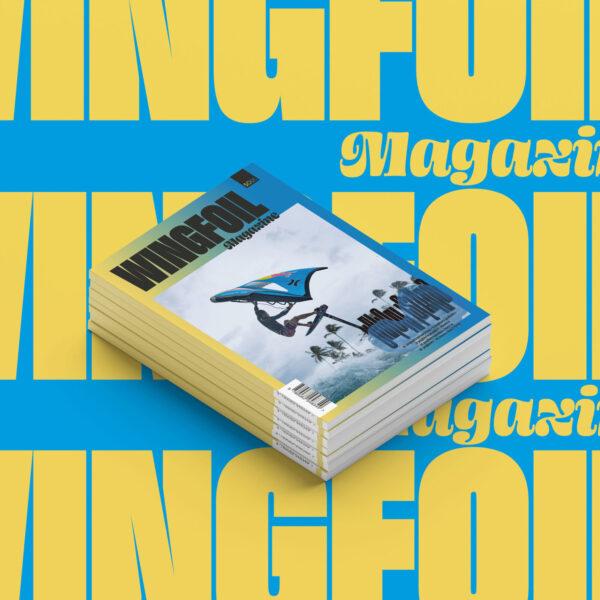 Wingfoil magazine vierkant premium abonnement