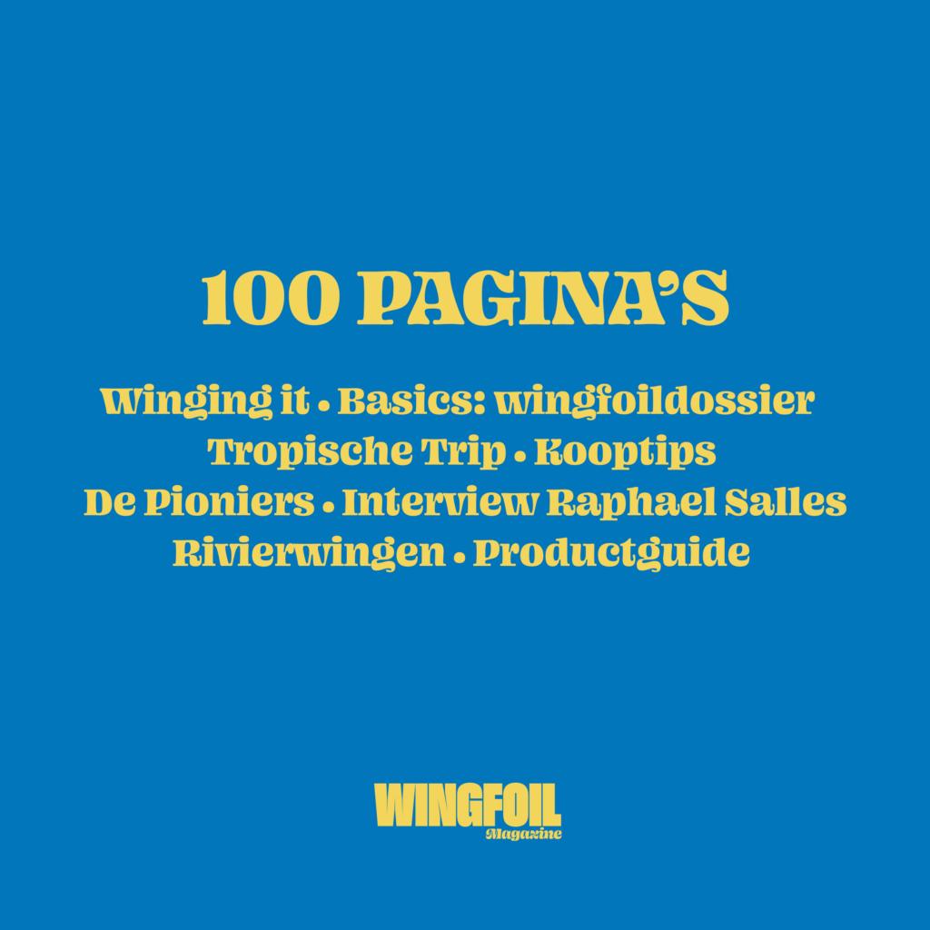 Wingfoil magazine profiel